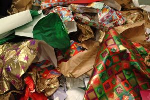 Holiday Paper Recycling